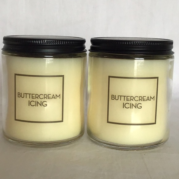 Bath & Body Works Buttercream Icing Candle Set